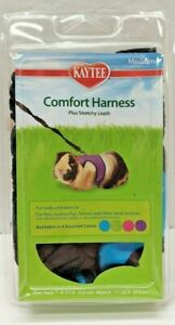 KayTee Comfort Harness & Stretchy Leash Medium NEW! Blue