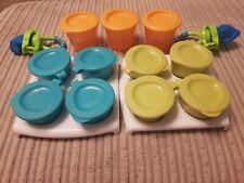 Tommee Tippee Explora Pop Up Freezer Pots & Trays & Teething Food Net