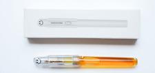 LingMo Lorelei Transparent Clear Eyedropper Fountain Pen Fine Nib Converter Pen