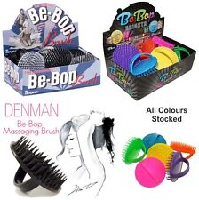 Be-Bop Denman D6 Hair Brush Massage Scalp Shampoo All Colours Stocked BeBop