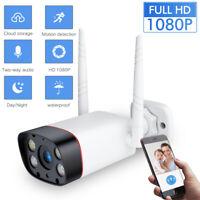 Wireless 1080P WIFI IP Camera Outdoor Home Security IR Night Vision Waterproof