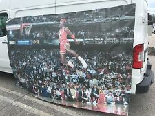 10ft x 6ft Jordan Dunk Custom Wall Art ---- 10x6 banner mIcHaEl nIkE 1 I cOnTeSt