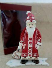 VILLEROY & BOCH Christmas Decoration SCANDINAVIAN SANTA  Box