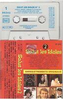 SALUT LES IDOLES cassette K7 tape VOL 2 france gall marie laforet delpech surf