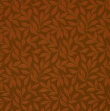 Elegant Belgium Red Clay Botanical Floral Leaf Crypton Upholstery Fabric 0401808