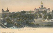 HARTFORD CT – Bushnell Park – udb (pre 1908)