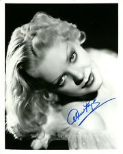 Beautiful ALICE FAYE In-person Signed Photo