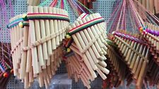 "Lot of 100 PAN FLUTE 13 PIPES beginners panpipes 6.6""Free shipping/We have store"