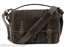 ONA Prince Street Leather (Dark Truffle) Messenger Handcrafted Premium Bag