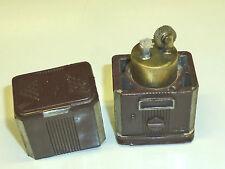 AUER VINTAGE POCKET PETROL WICK LIGHTER - FEUERZEUG - 1950 - MADE IN JAPAN