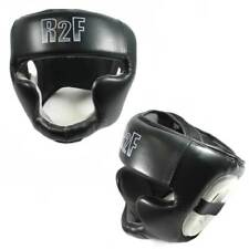 XL Black Boxing & MMA Sparring Protective Headgear