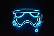 Star Wars First Order Stormtrooper ForceAwakens BLUE Halloween Costume Rave Mask