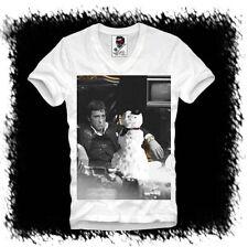 Herren-T-Shirts aus Mischgewebe mit Motiv