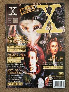"The X-Files - Titan UK Magazine - Issue #20 Jan 1997 ""Night Lights."""
