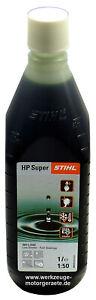 1000ml Zweitaktmotorenöl Stihl HP Super, 0781 319 8053, 1Liter