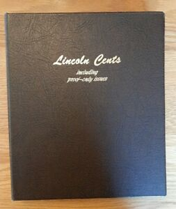 DANSCO Coin Album LINCOLN CENTS INCLUDING PROOF-ONLY used