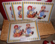 1 DISCONTINUED RAGGEDY ANN & ANDY PLACEMAT NEW
