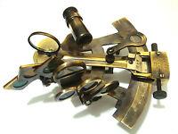 Brass Ship Sextant - Brass Marine Sextant - Kelvin & Hughes London 1917