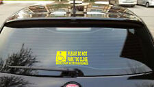 WHEELCHAIR ACCESS REQUIRED PARKING DISABLED CAR GRAPHIC STICKER /14 colours