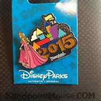 Disney 2015 Dated Logo Sleeping Beauty Princess Aurora Pin (NA:107856)