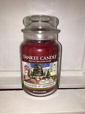 YANKEE Candle 22 OZ (ca. 623.68 g) 623 G GRANDE Giara Williamsburg 10th ANNIVERSARIO DEERFIELD RARO