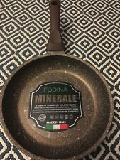 "FuDINA 9.5"" Size Italian Made Deep Fry Pan Cookware Skillet Made in italy"
