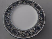 Wedgwood Florentine Blue Dinner Plates England EIGHT