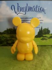 "Disney Vinylmation 3"" Park Set 1 Create Your Own Yellow"