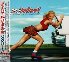 GERI HALLIWELL Scream If You Wanna Go Faster +1 JAPAN CD TOCP-65721 Spice Girls