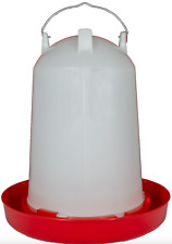 Large 12 LTR  Robust Hens Ducks Geese Turkey Chickens Drinker 12 Litre