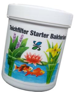 Aquarön Teichfilter Starterbakterien 100g für 20000 L Filterstarter Bakterien