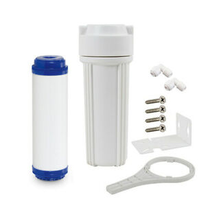 Nitrate Reduction Filter Cartridge And Housing For Aquarium