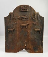 A 19th Century Country Fireback.
