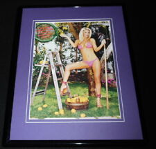 Jenny McCarthy Bikini Heels Framed 11x14 Photo Display