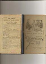 Charles LEBAIGUE POUR NOS FILS LECTURES EXPLIQUEES 1904
