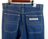 "BOXX Sport Edition Men's Jeans Dark Wash Cotton Straight Leg Size 40"" X 34"" NWT"