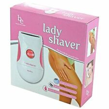Lady Shaver Wet/Dry w/ Batteries, Brush & Mat Beauty Essentials -- FREE SHIPPING