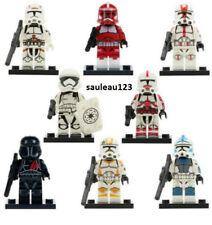 minifigureLego Star Wars Minifigure newx airborne Clone Trooper