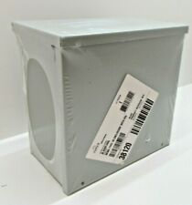 Hoffman Type 3r Junction Box Enclosure 10 X 10 X 6 Outdoor With Knockouts