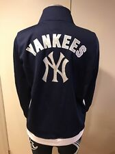 Pink Victoria's Secret League New York Yankees MLB Track zip Jacket Medium