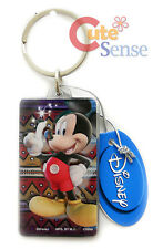 Disney Mickey Mouse Key Chain Holder Acryl Plastic Pendant