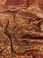 """44/"""" material del vestido Brocade Premium Tela ornamental Banarsi Indio Imitación"""