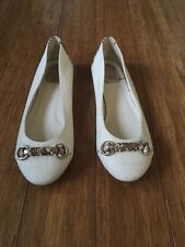 Christian Dior Ballet Flats Womens Shoes White Sz 40 Brand New Beautiful Shoes