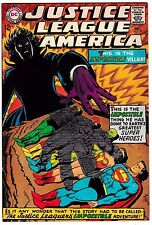 JUSTICE LEAGUE OF AMERICA #59 (VF) SUPERMAN! FLASH! WONDER WOMAN! AQUAMAN! 1967