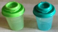 Tupperware Salt and Pepper Shakers -60ml each set of 2-New