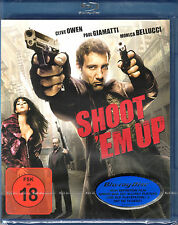Shoot 'em up , Blu_Ray , 100% uncut , new , Clive Owen , Monica Bellucci