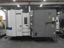 2000 Mori Seiki HMC SH-503/40 CNC Mill MSG-502 Control With Video