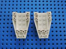 LEGO 2 x Keilstein Rumpf 43713 weiß  6x4 negativ  41015 7287 9493 7237
