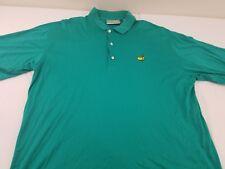 Augusta National Golf Shop Slazenger Mens Green Masters Logo Golf Polo Size XL