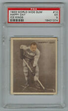 1933/34 World Wide Gum Ice Kings #10 Happy Day PSA 5